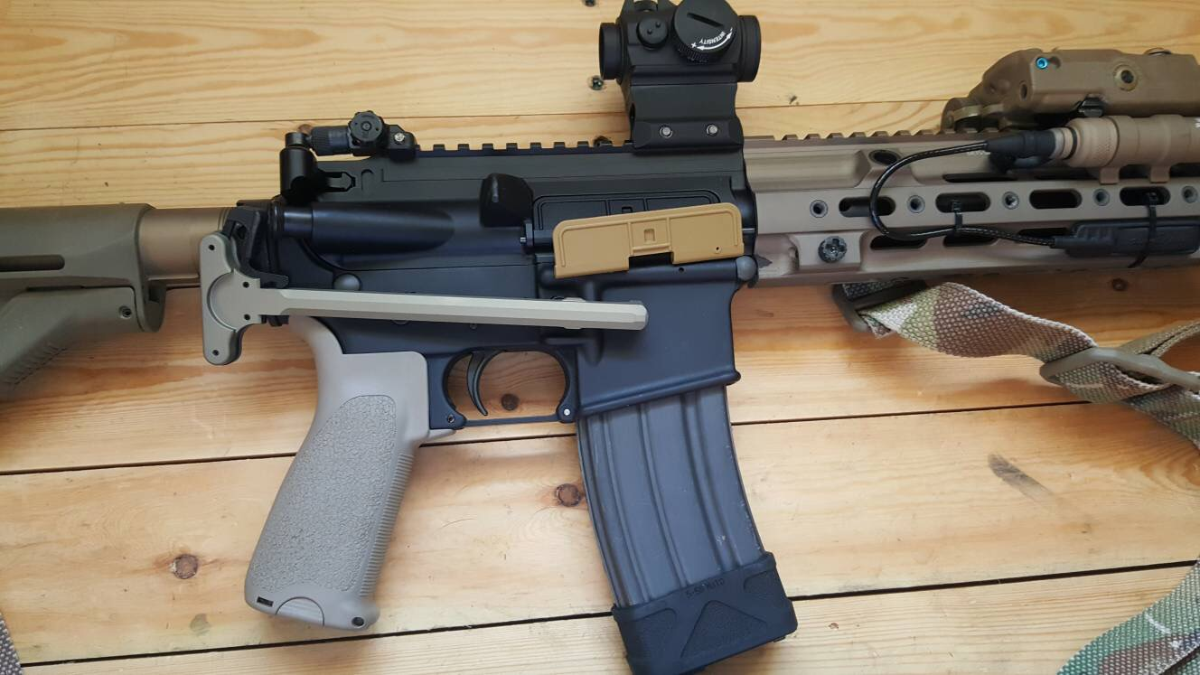 Tan_Rifle's CAG HK416D – The Reptile House