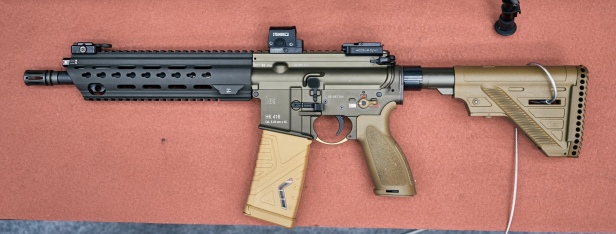 In The Wild: HK416 Slim Line Hand Guard – Part 1 – The