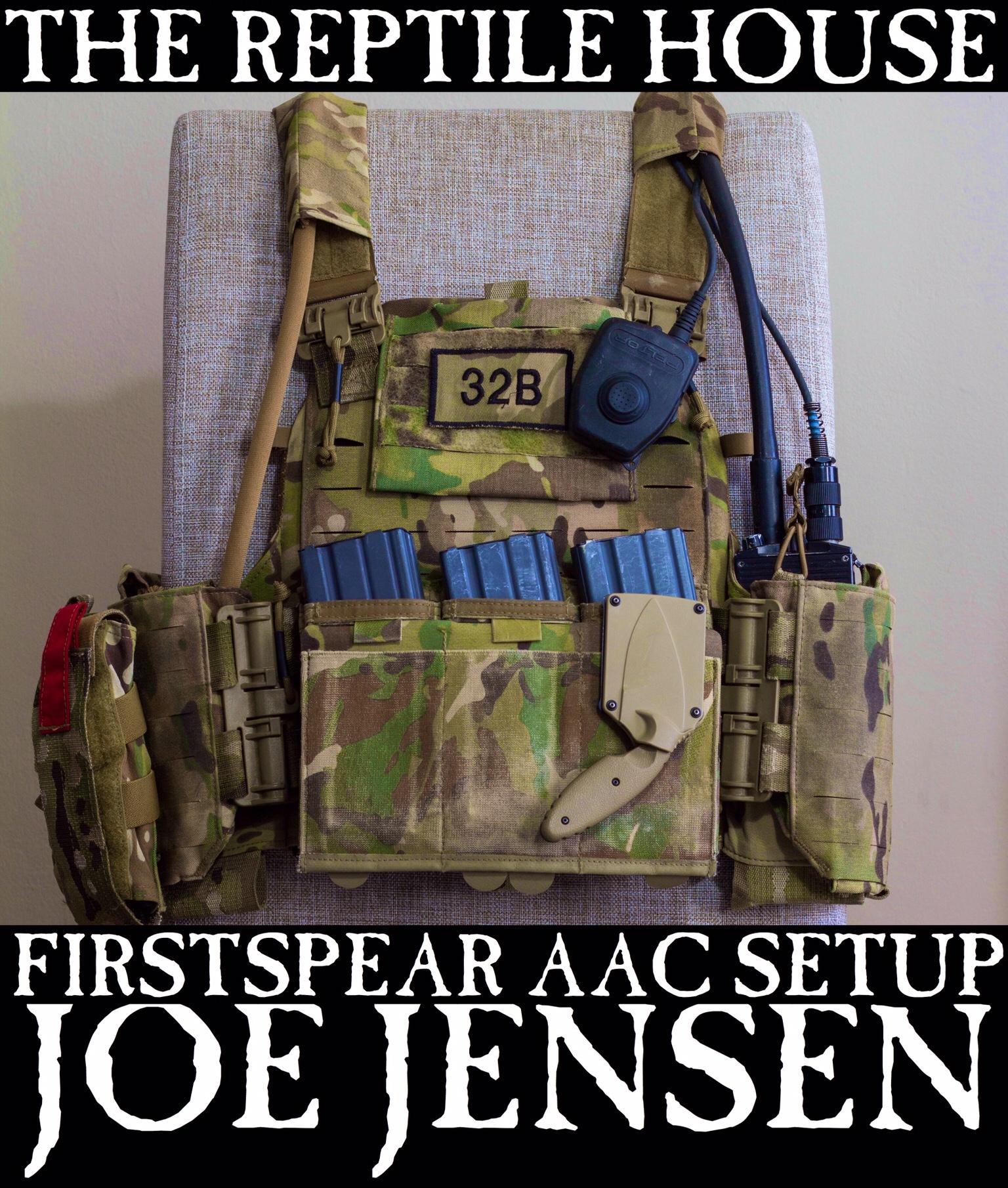 Joe Jensen First Spear Aac Plate Carrier Set Up